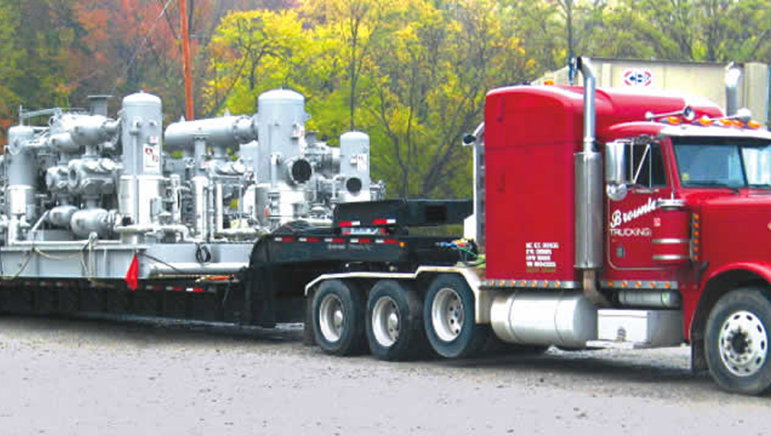 Specialized equipment (Heavy Hauling)